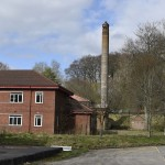 Chimney and Outbuilding on Former Barracks