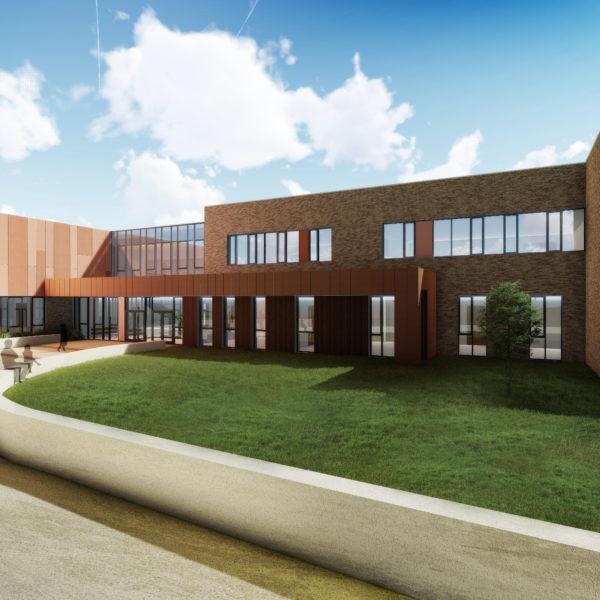 Omagh Academy Grammar School Exterior