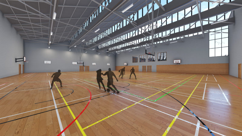 Shared Sports Centre Interior