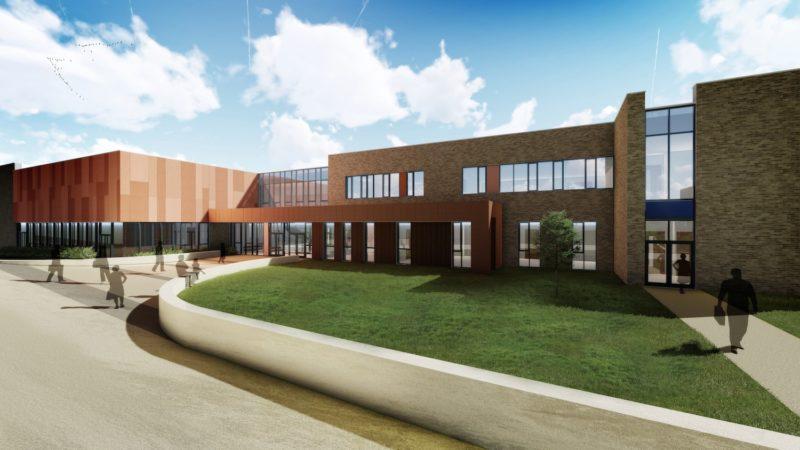 Omagh Academy Exterior