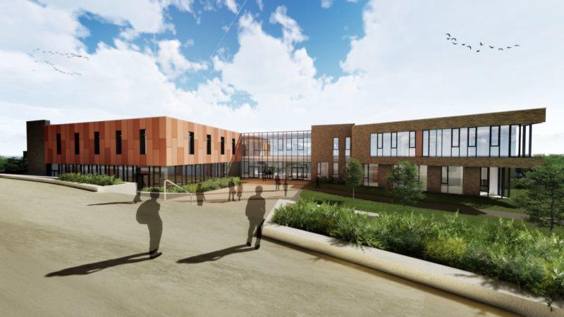 Omagh High School Exterior