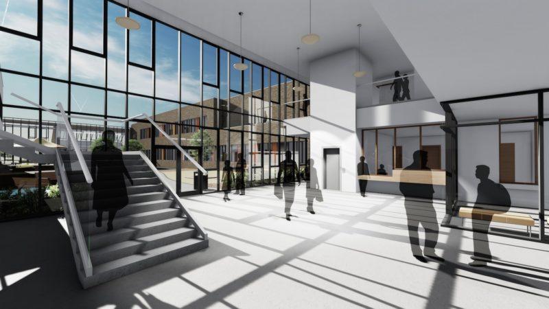 Omagh High School Interior