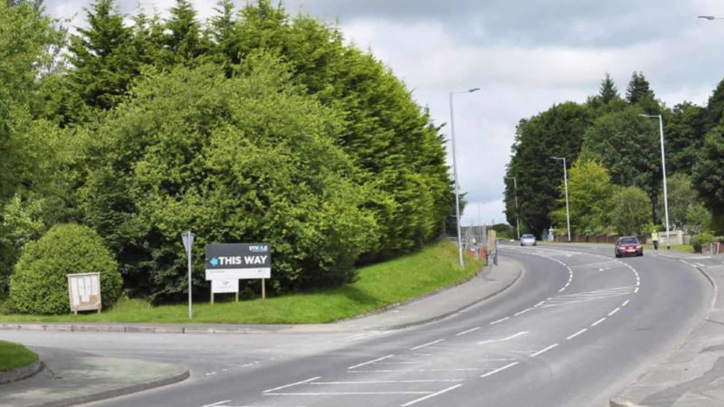 Gortin Road Entrance   Current View