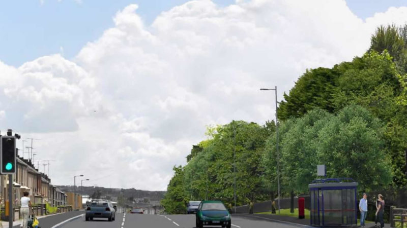 Mountjoy Road   10 to 15 Years After Construction